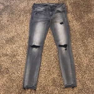American Eagle Super Stretch Low Rise Jegging